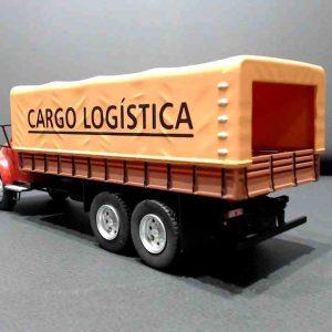 Caminhão Cargo Logistica – Bod Ford Type A – 1/43 – CAMINHÕES BRASILEIROS DE OUTROS TEMPOS