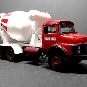 Caminhão Betoneira – Mercedes LB2213 – 1/43
