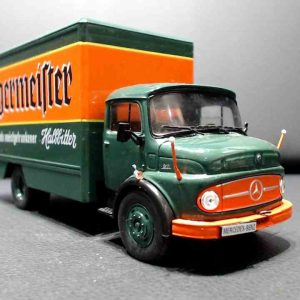 1/43 Caminhão Mercedes L911 Jagermeister Bau 1969 Deagostini