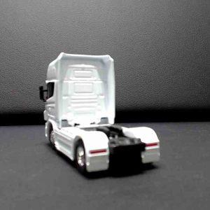Miniatura Caminhão Scania V8 R730 Welly 1/32 Branco