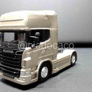 Miniatura Caminhão Scania V8 R730 Welly 1/32 Cobre