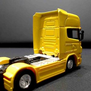 Miniatura Caminhão Scania V8 R730 Welly 1/32 Amarelo