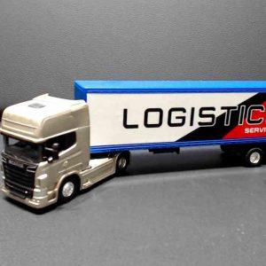 Miniatura Scania v8 r730 – cobre – Transporte Logistico