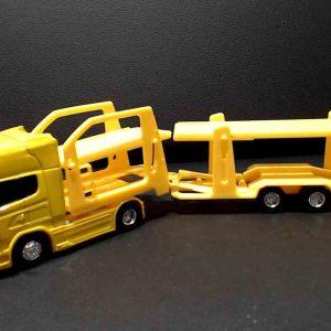 Miniatura Scania v8 r730 – Amarelo – Cegonha