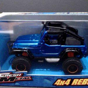 Jeep Rangler Rubicon – 1/36 – Azul