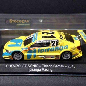 Chevrolet Sonic – Thiago Camilo – 2015 – Ipiranga Racing – Amarelo – 1/38