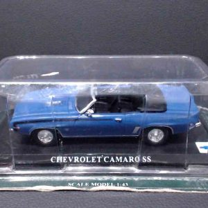 Chevrolet Camaro SS Conversível – Azul – 1/43