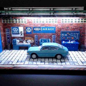 Diorama Pequeno – Variant – Azul