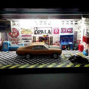 Diorama Pequeno – Opala SS – Cobre