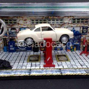 Diorama Pequeno – Elevacar Karmann Ghia