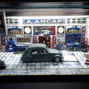Diorama Pequeno – Citroem C2