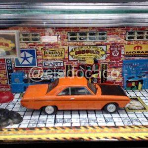 Diorama Pequeno – Dodge Dart SE – Laranja