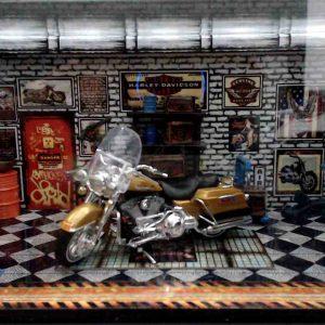Diorama Harley Modelo 3
