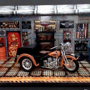 Diorama Harley Modelo 5