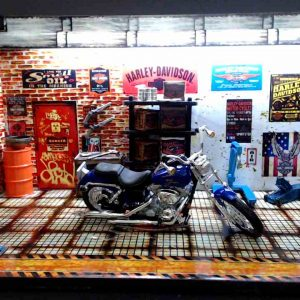 Diorama Harley Modelo 6