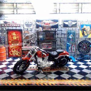 Diorama Harley Modelo 11