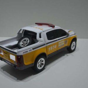 S10 Policia Rodoviária – Amarelo/Branco