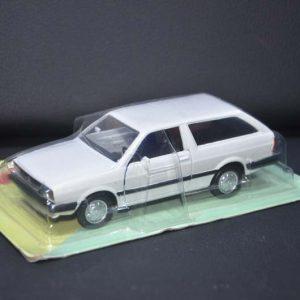 Miniatura VW Parati Branca 1983 – NA EMBALAGEM ORIGINAL