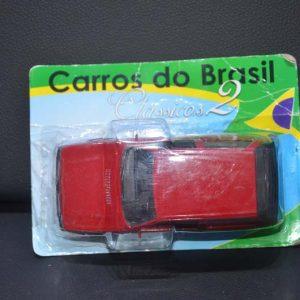 Fiat Uno 1.5R 1988/1989- Vermelho – 1/32 – NA EMBALAGEM ORIGINAL