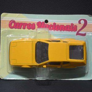 Miura 1990 – Amarelo – Carros Brasileiros – Nacionais II – NA EMBALAGEM ORIGINAL