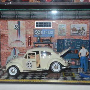 Diorama Grande Fusca Herbie