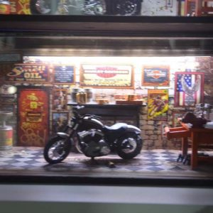 Diorama Harley Modelo 2