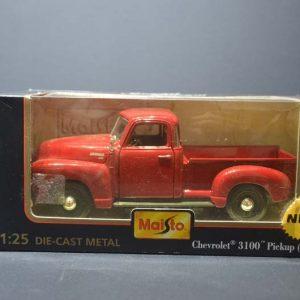 1950 Chevrolet 3100 Pickup 1/25 – NA CAIXA