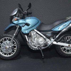 Miniatura Moto Bmw F650 Gs Escala 1:18 – 12cm -maisto