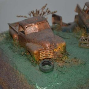 Ferro Velho GRANDE – 3 CARROS
