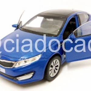Miniatura Kia Optima K5 Azul 1:39 Welly