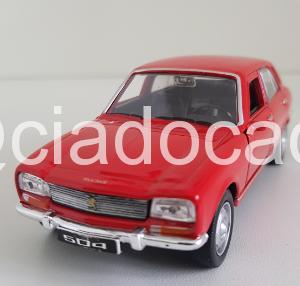 Peugeot 504 – 1975 Vermelho – Welly