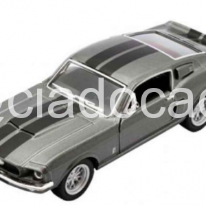 1967 Shelby Gt 500 Escala 1:38 – Cinza
