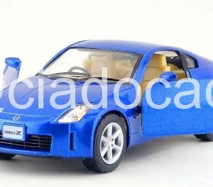 Miniatura Nissan 350 Z Azul 1:38 Kinsmart