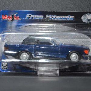 Mercedes-benz 500sl Azul Marinho 1/39 Maisto
