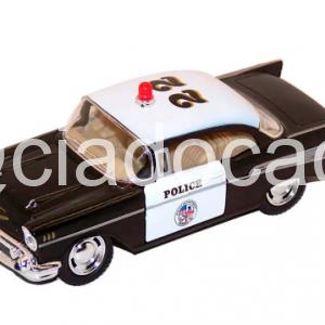 Miniatura 1957 Chevrolet Bel Air Polícia – 1/40 – Kinsmart