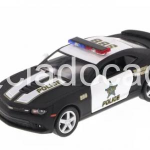 Camaro 2014 Policia Carro De Police Kinsmart 1/38