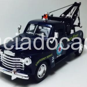 Chevrolet 3100 Wrecker 1953 Azul 1/38 Kinsmart