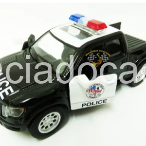 Ford F-150 Svt Raptor 2013 Polícia 1:46 Kinsmart