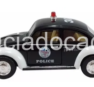 1967 Volkswagen Fusca Policia Americana – Kinsmart 1/32