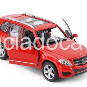 Mercedes-benz Glk Suv 1:36 Vermelha Welly