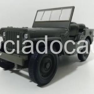 Miniatura Jeep Willys Militar Exercito 1941 – 1/32