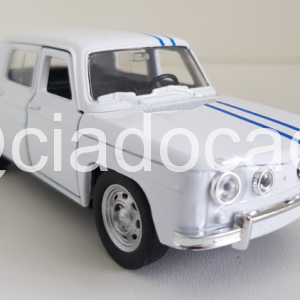 Renault R8 1960 Branco Welly 1:32