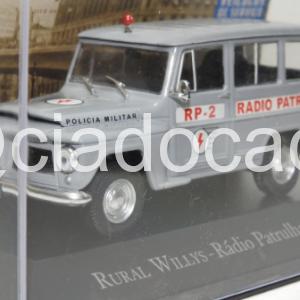 Rural Willys Rádio Patrulha Polícia Militar 1:43