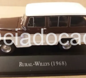 Rural Willys 1:43 Ano 1968